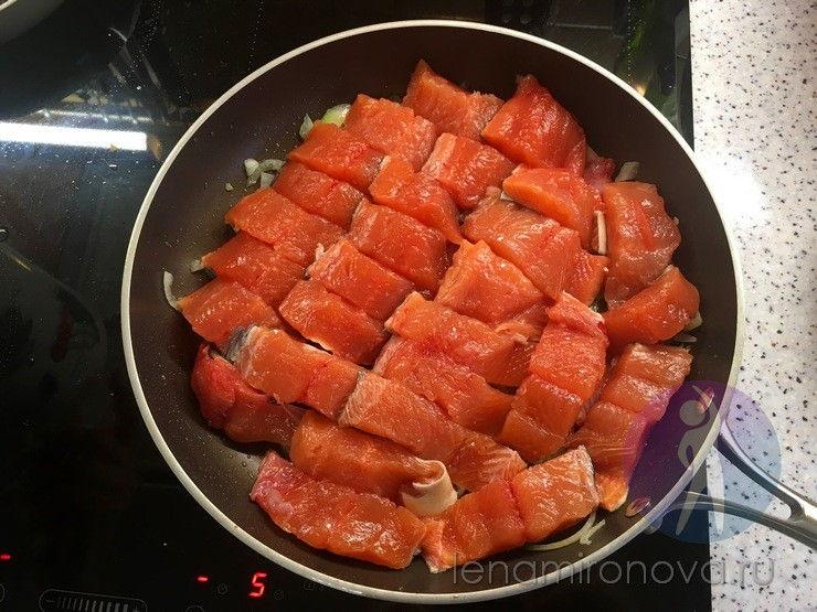 горбуша на сковороде
