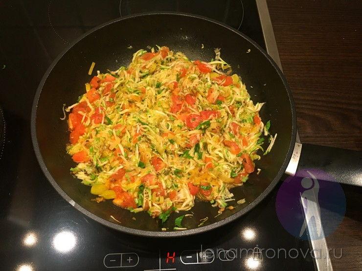 соус из кабачков на сковороде
