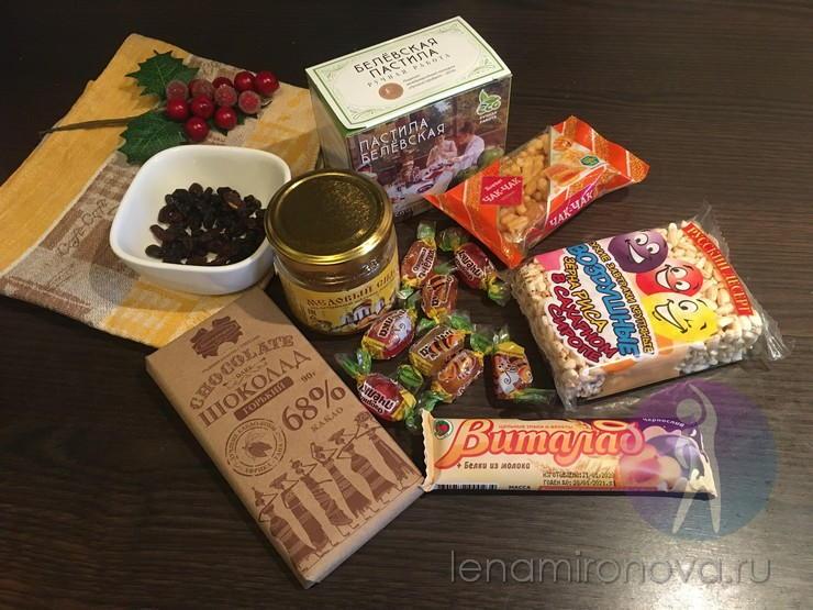 шоколад, мед, пастила, конфеты